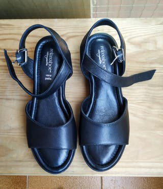 Sandalias de piel totalmente nuevas RelaxShoe