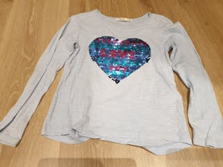 Jersey azul de niña Sfera Talla 5-6 años