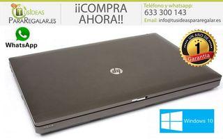 "Portátil HP ProBook 6560B, i5 / Cam / 15,6"" / 8Gb"
