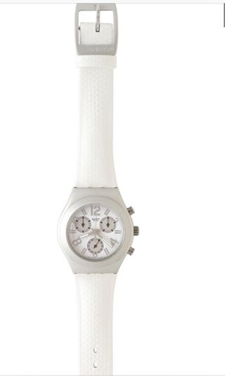Swatch Irony YMS1007 Whitewashed Watch