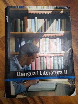 LIBRO LLENGUA I LITERATURA 2 BATX EDEBE