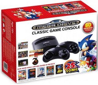 Consola Retro Mega Drive Sonic 25Th