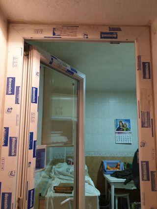 pvc aluminio balconeras ventanas puertas montaje