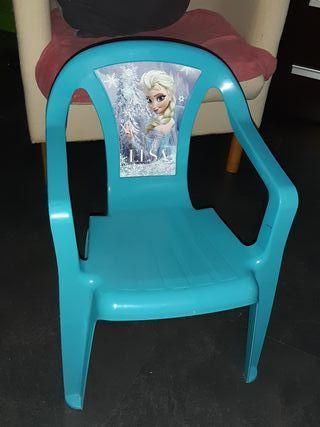 silla para niñas