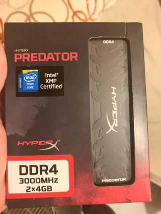 Memoria RAM Hyper X Predator 8GB