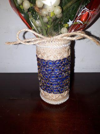 jarrón pequeño artesanal