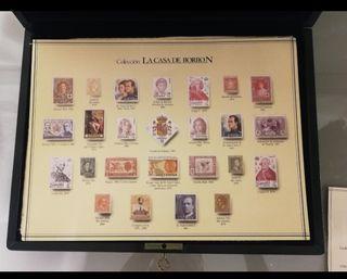 Coleccion de sellos de los Borbones
