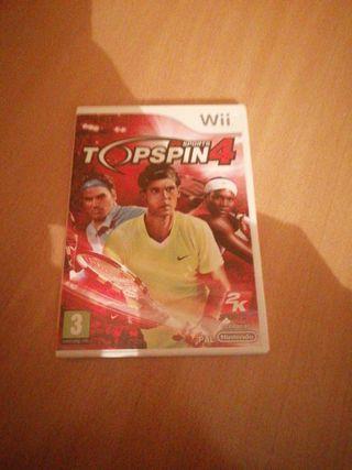 TOPSPIN4 para Wii