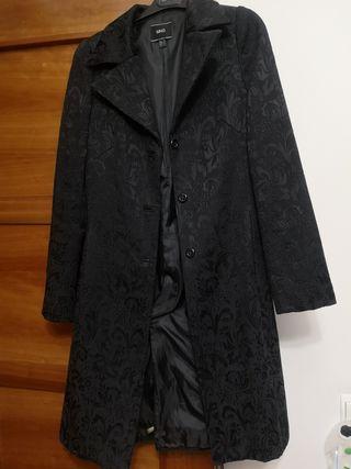 abrigo bordado mango