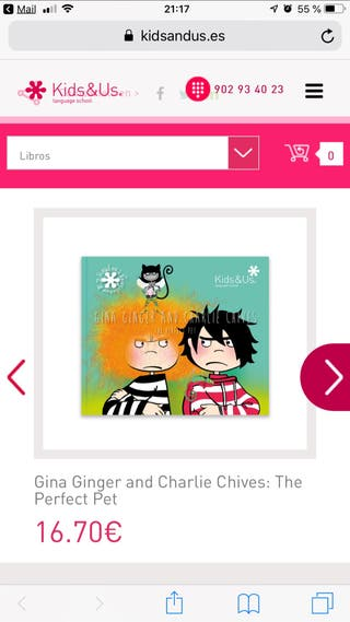 GINA GINGER AND CHARLIE CHIVES: The perfect pet
