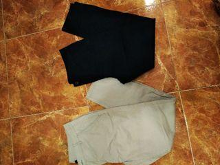 lote 2 pantalones mujer talla 44