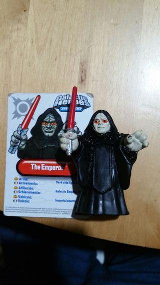 Emperador Palpatine Galactic Heores Star Wars