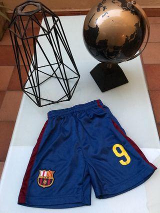 Pantalón Corto F.C. Barcelona Talla 4 Años