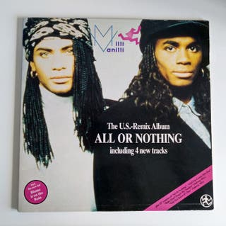 Vinilo Milli Vanilli - All or nothing IMPECABLE