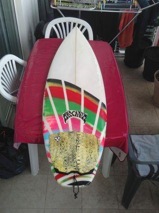 Tabla de surf shortboard 5'10 Joan Duru 27L