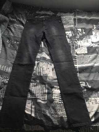 Black womens replay jeans