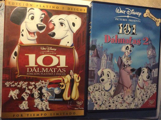 101 DÁLMATAS 1 y 2 DVD