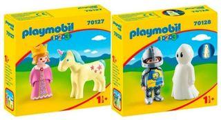 Playmobil 1 2 3 - Caballero y Princesa