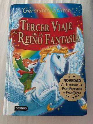 Libro Tercer viaje al reino de la fantasía