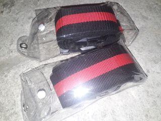 Sangles pour bagages TSA : 2 unités