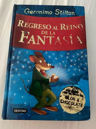 Libro Regreso al reino de la fantasía