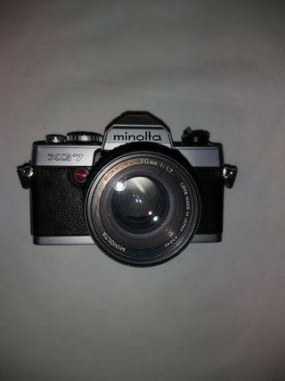 Camara de fotos Minolta XG7