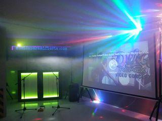 Equipo d.j completo3200 w iluminacio, proyector
