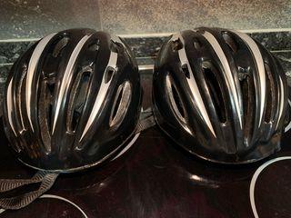 2 cascos bici
