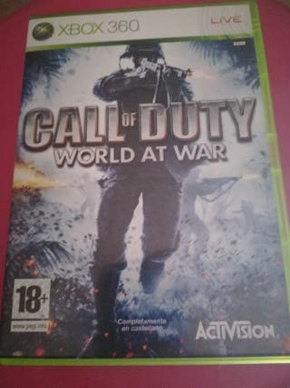 Xbox 360 /one call of duty World of war