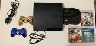 Playstation 3 + 19 Juegos + 2 Mandos