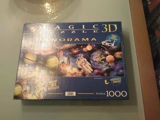 Magic puzzle, 1000 piezas.