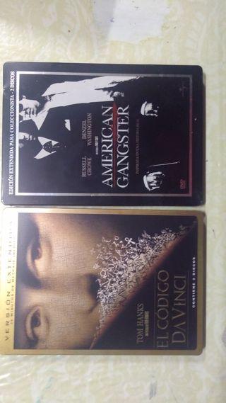 Películas metalicas DVD
