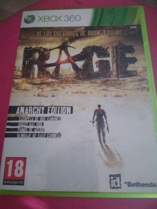 Xbox 360/one Rage