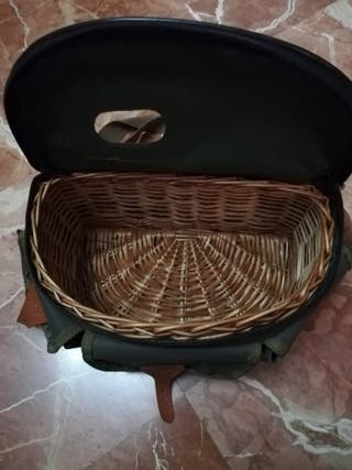 cesta de pescar impermeable