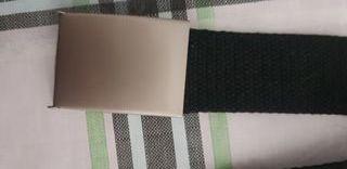 Cinturón negro 1,40 cm ajustable