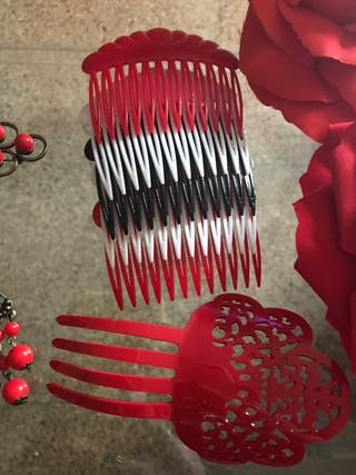 Vestido flamenco y accesorios