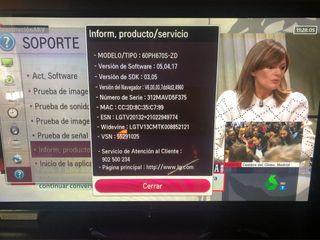 LG SMART TV 60 PULGADAS