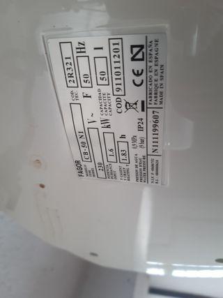 Termo eléctrico FAGOR