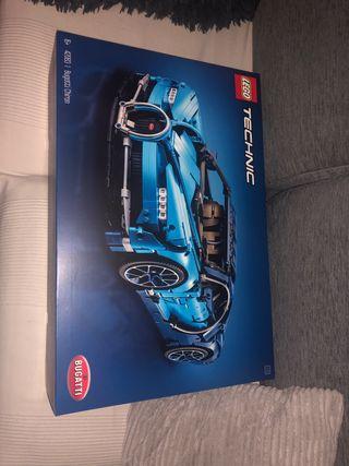 Lego 42083 bugatti chiron precintado + luces LED
