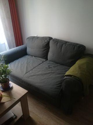 sofà cama de dos plazas.
