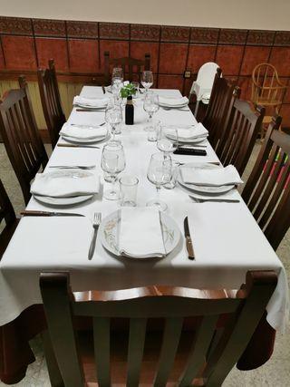 Manteles y Cubre Manteles mesas de restaurante
