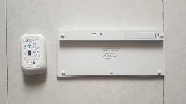 Pack Teclado Trust y Ratón HP (ambos wireless)