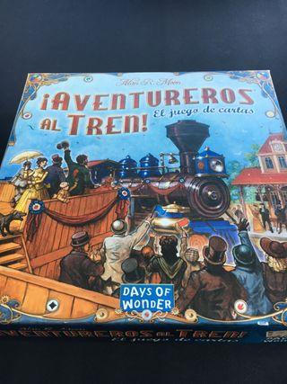 Aventureros al tren (el juego de cartas)