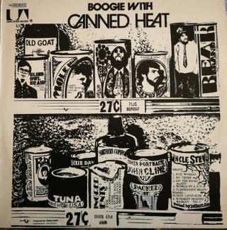 DISCO VINILO CANNED HEAT - BOOGIE WITH