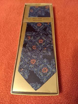 corbata seda 100%