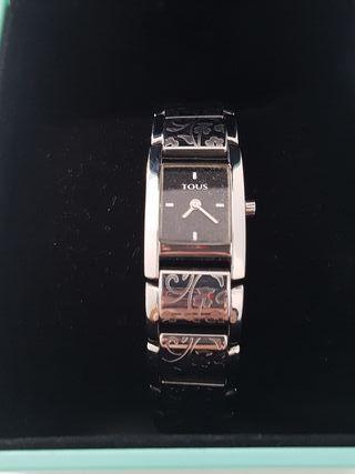 reloj TOUS ORIGINAL cadena acero grabada