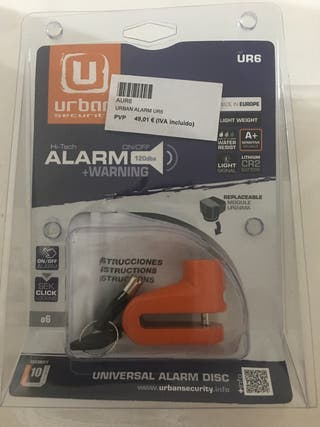 Universal alarm disc