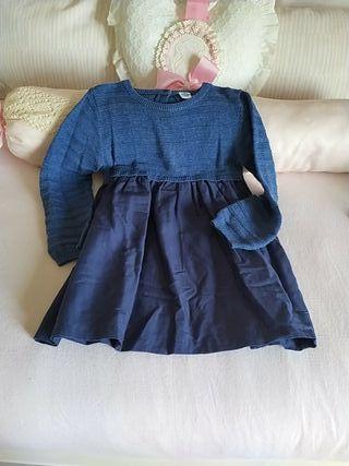 vestido niña 2e meses