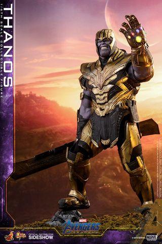 Thanos Figura 1/6 Avengers Endgame Marvel Hot Toys