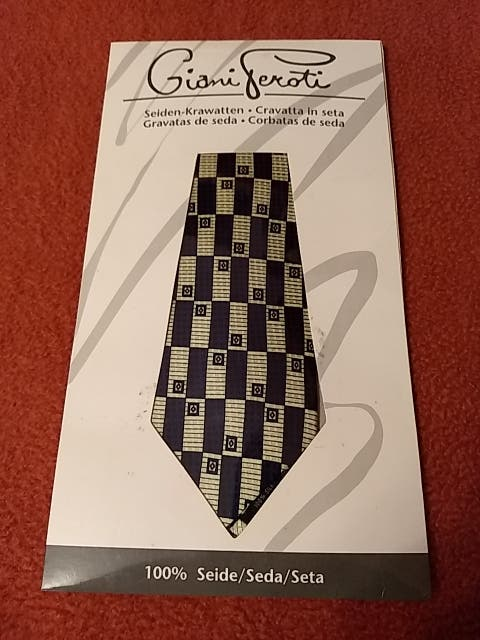 corbata seda natural 100%